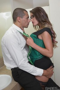 Babes August Ames in Afternoon Quickie with Alex Jones 1