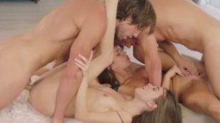 VIXEN Riley Reid, August Ames and Abella Danger